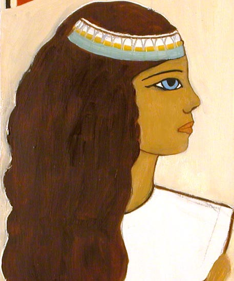 Margaret as an Egyptian Princess - 1978