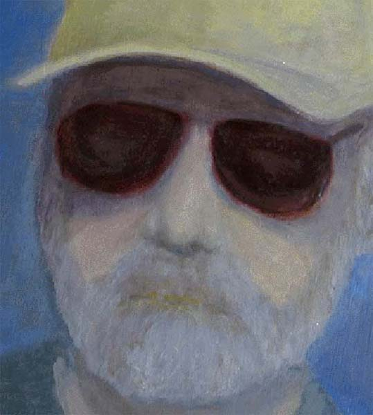 Self Portrait with Ball Cap - March, 2001
